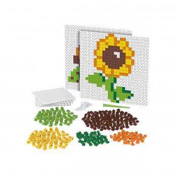BiOBUDDi Pixel & Create BB-2014: Erweiterungsset - Blume und Schildkröte