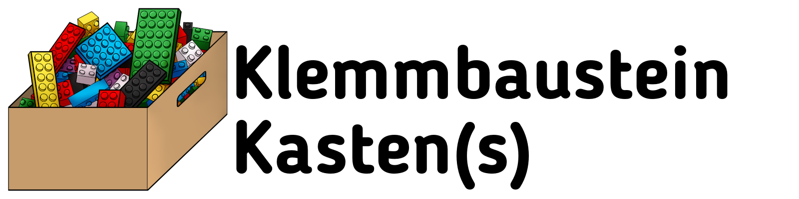 Klemmbaustein Kasten(s)-Logo